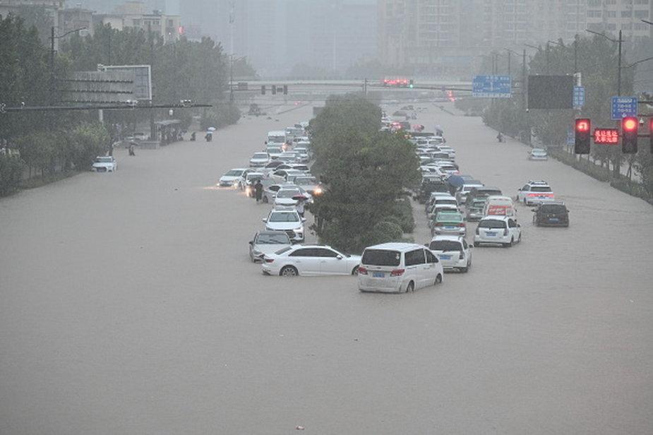 Powodzie w Chinach