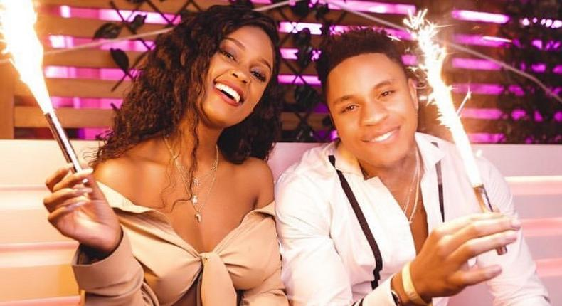 Hutuachani- Shouts Vanessa Mdee's Boyfriend Rotimi as she explains her absence from the music scene since they started dating
