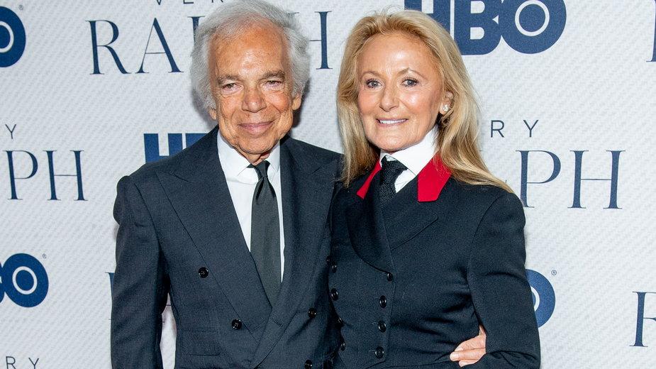 Ralph Lauren z żoną Ricky Anne Loew-Bee