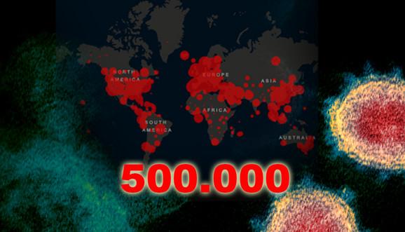 Virus smestio trećinu čovečanstva u izolaciju, usmrtio 20.000 i zarazio pola miliona ljudi