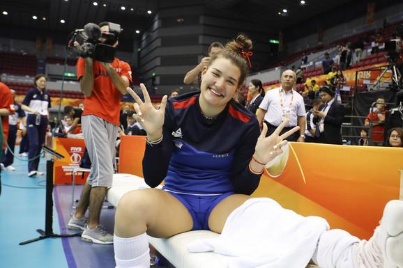 Bojana Milenković šalje pozdrav posle povrede u Japanu
