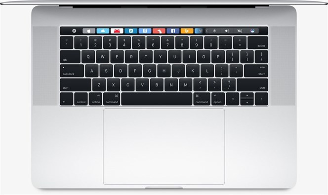 Touch Bar w nowym MacBooku Pro