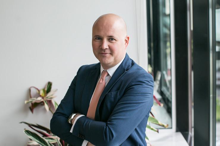 Milan Vujović, direktor odeljenja za advertajzing i korporativnu komunikaciju