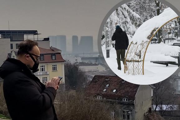 OD ZIMSKE IDILE DO PRESTONICE KOJA SE GUŠI Prošle godine uživali smo u snegu, a danas Beograd grca u smogu (VIDEO; FOTO)