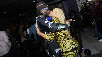 Are Burna boy and Stefflon Don married?