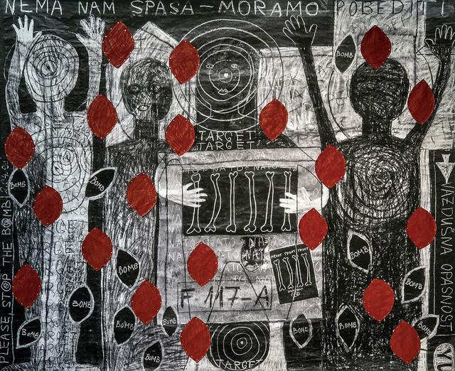 """Crtež Biljane Willimon iz ciklusa """"Zbogom pameti"""""""