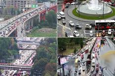 KIŠA, ŠPIC, KOLAPS Velike gužve širom prestonice, na mnogim saobraćajnicama KILOMETARSKE KOLONE