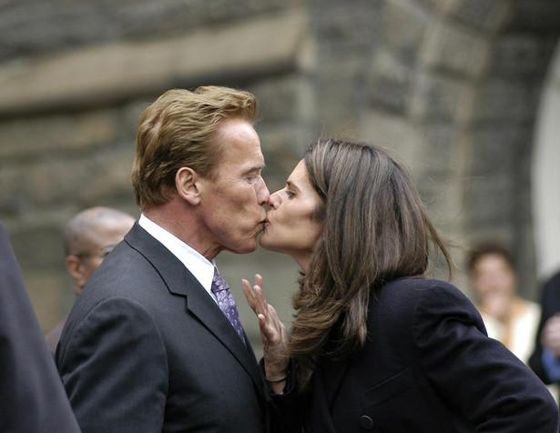 Arnold Schwarzenegger i Maria Shriver jeszcze przed separacją. FOT. AFLO/NEWSPIX.PL