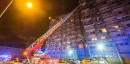 Pożar na łódzkim Manhattanie