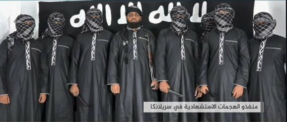 Zahran Hašim je navodno u centru, među grupom koja je sprovela bombaške napade za Isis