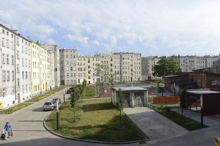 Podwórze we Wrocławiu