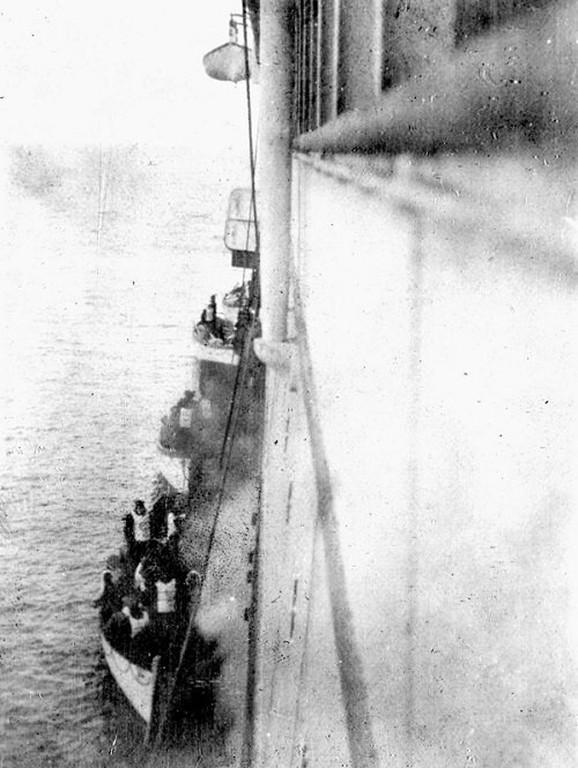 Spasavanje brodolomaca sa Titanika