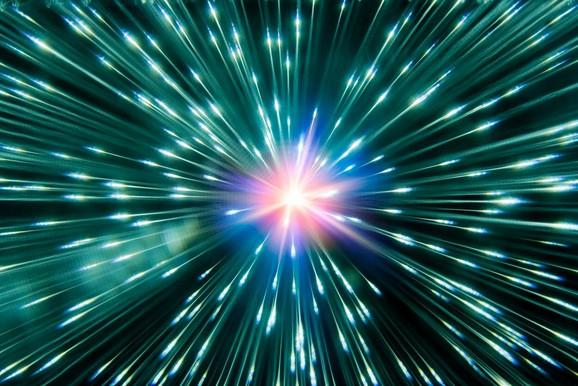 Umetnička vizija mlazeva neutrina
