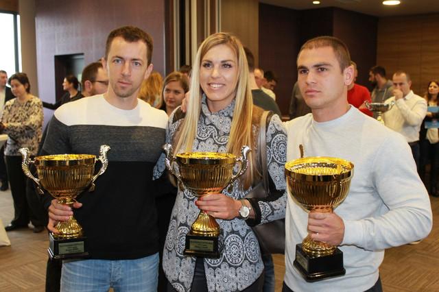 Marko Tomićević, Milica Starović i Milenko Zorić