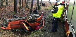 Tragedia w Borczu. 21-latka próbowała uniknąć zderzenia, nie żyje