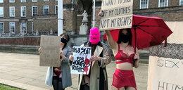 Tancerki erotyczne protestują przeciwko likwidacji klubów go-go w Bristolu