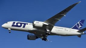 Dreamliner LOT-u został trafiony przez piorun