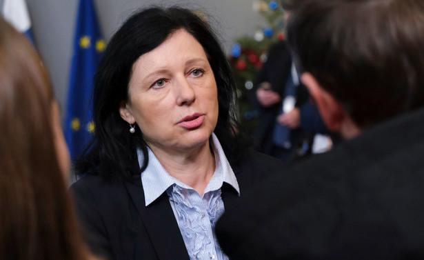 Viera Jourova będzie uczestniczyła w poniedziałek w obchodach 75. rocznicy wyzwolenia obozu Auschwitz-Birkenau