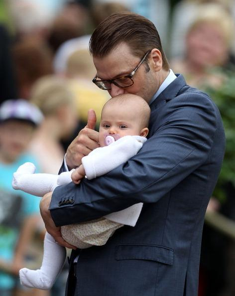Stella Sylwia Ewa Maria i  książę Daniel / fot. Getty Images