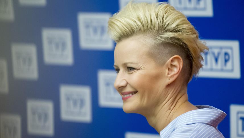 Małgorzata Kożuchowska Wróciła Do Blond Włosów