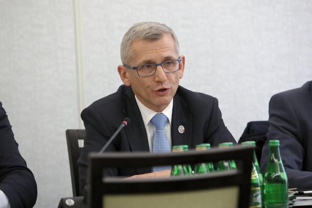 Krzysztof Kwiatkowski, bezpartyjny senator z Łodzi, autor projektu ustawy o łódzkim związku metropolitalnym