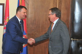 Predsednik Vlade Vojvodine Igor Mirović i ambasador Ruske Federacije Aleksandar Čepurin
