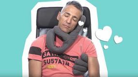 Poduszka w kształcie dłoni. Sekret dobrego snu?