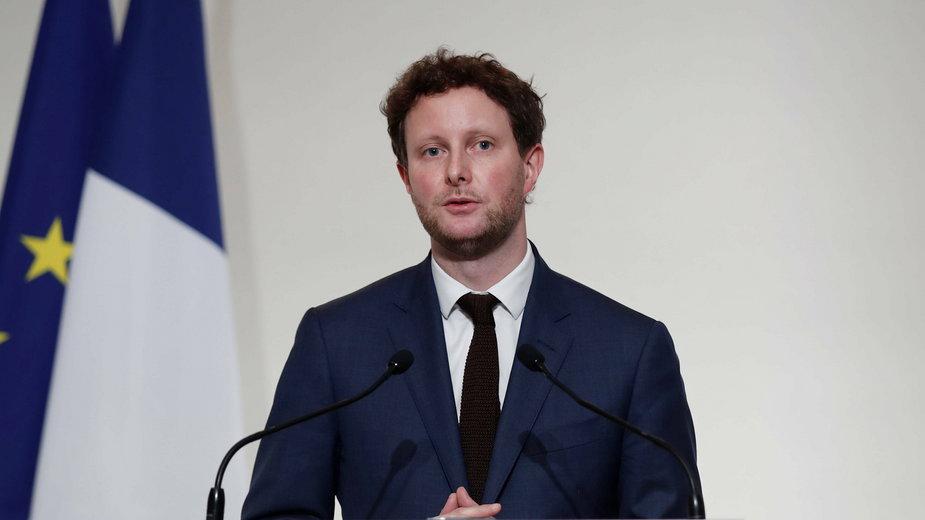 Francuski minister ds europejskich Clément Beaune