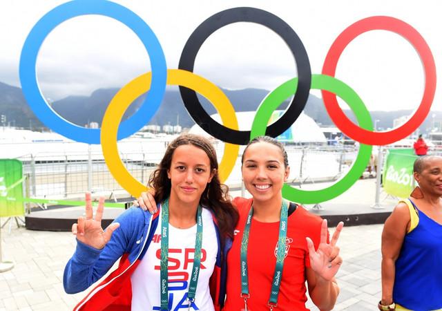 Katarina Simonović i Anja Crevar na Olimpijskim igrama u Rio de Žaneiru