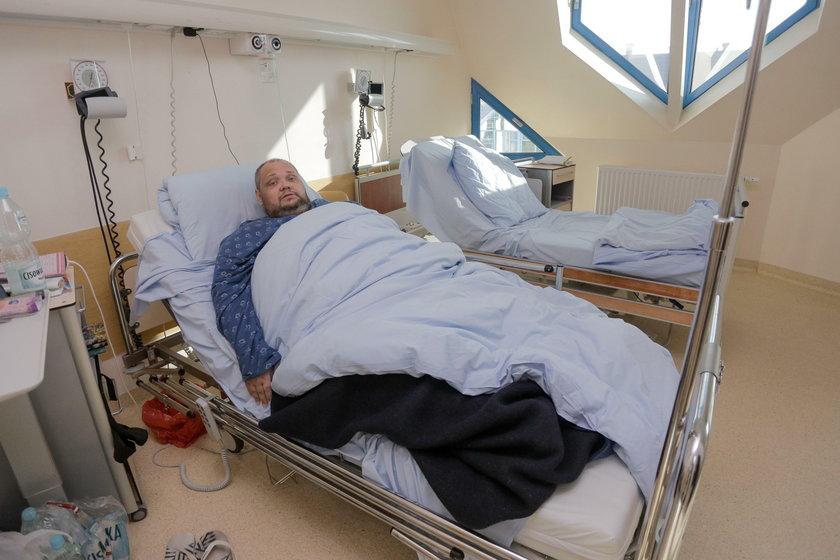 Wojciech Karatnicki (39 l.), bezdomny wrocławianin