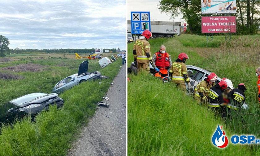 Groźny wypadek pod Opolem.