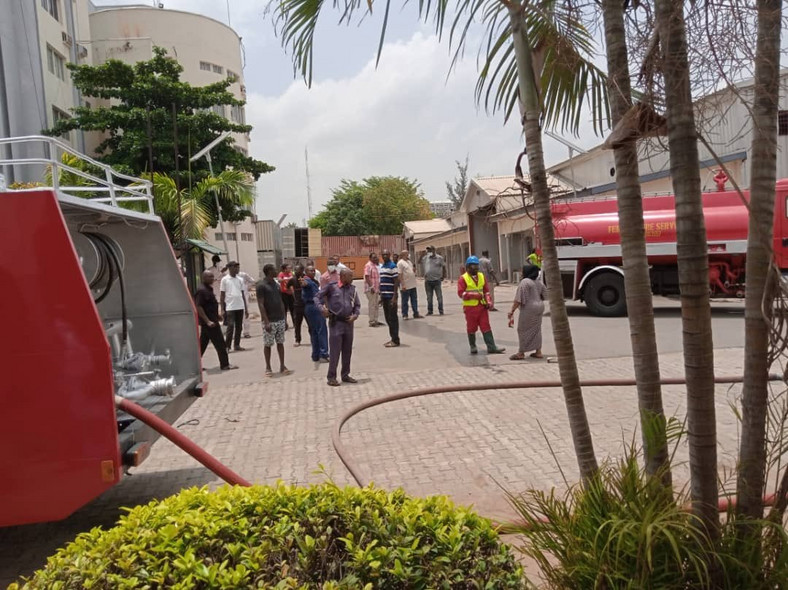 Fire fighters contained the fire outbreak before it could cause any significant damage [INEC]