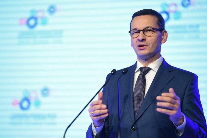 I Kongres Rozwoju Kolei 2019. Premier Mateusz Morawiecki nazwał rozwój kolei swoim oczkiem w głowie