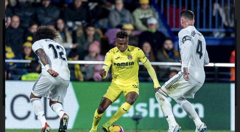 Samuel Chukwueze proves his worth by tormenting Marcelo and the whole Real Madrid defence in last week's La Liga clash