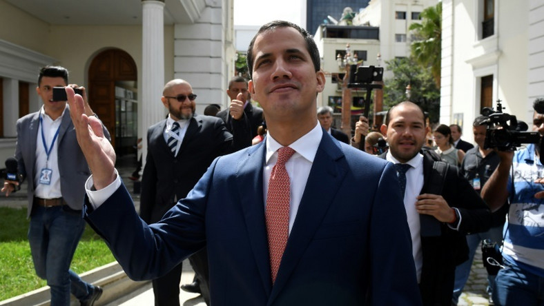 Venezuelan opposition leader Juan Guaido says the Maduro regime would isolate itself even more if it carried out a threat to bring forward parliamentary elections