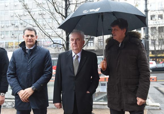 Đorđe Višacki, Božidar Maljković i Žarko Zečević