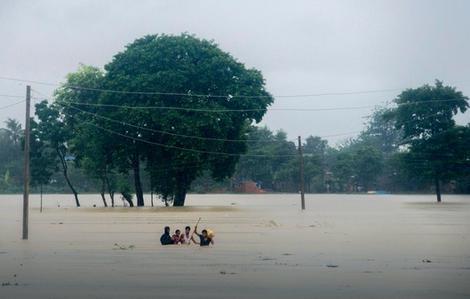 Velike poplave u Nepalu