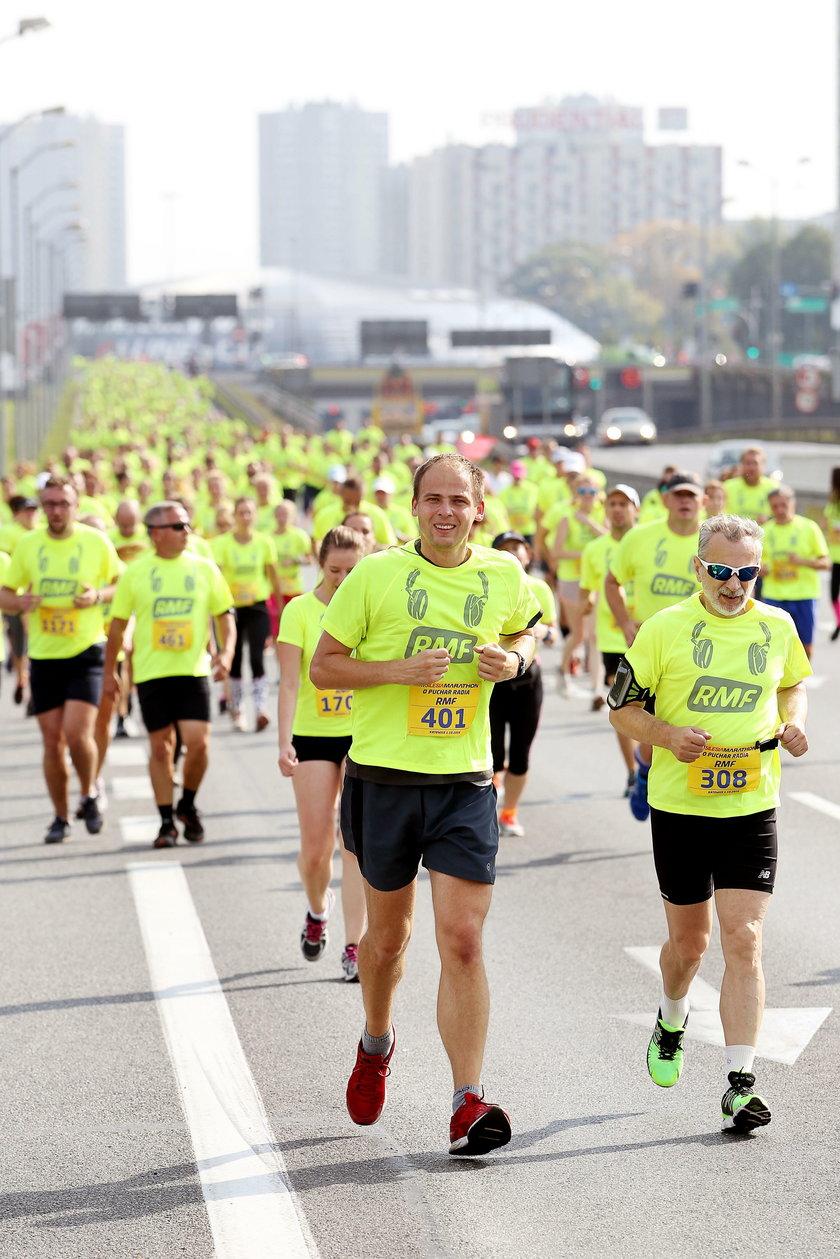Katowice. Silesia Marathon. Bieg o puchar Radia RMF FM