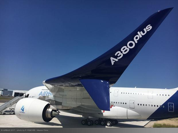 Airbus A380plus - winglet