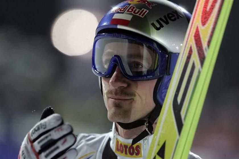 Adam Małysz zajął piąte miejsce w Zakopanem