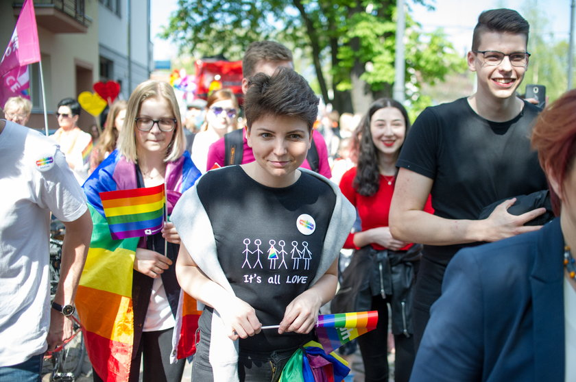 Homofobiczny atak na biuro poselskie w Katowicach.
