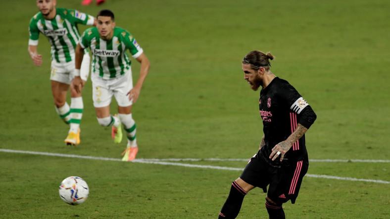 Sergio Ramos ustalił wynik bramką z rzutu karnego