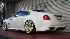 Rolls-Royce Wraith po tuningu - osobliwa strona luksusu