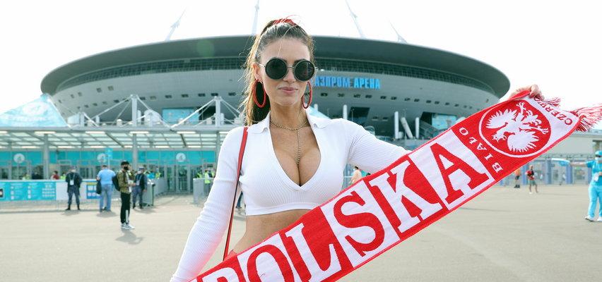 Polska miss poprzedniego Euro wzbudza zachwyt w Petersburgu. Rosjanie oniemieli. ZDJĘCIA