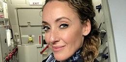 Piękna stewardesa i jej harce w samolocie. Są zdjęcia
