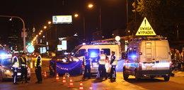 Masakra na drodze w Warszawie. Zginął motocyklista i pasażerka