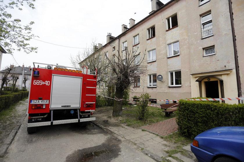 Ogrodzieniec. Wybuch butli w mieszkaniu przy ul. Słowackiego