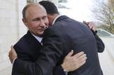 Vladimir Putin, Bašar al Asad, Sastanak