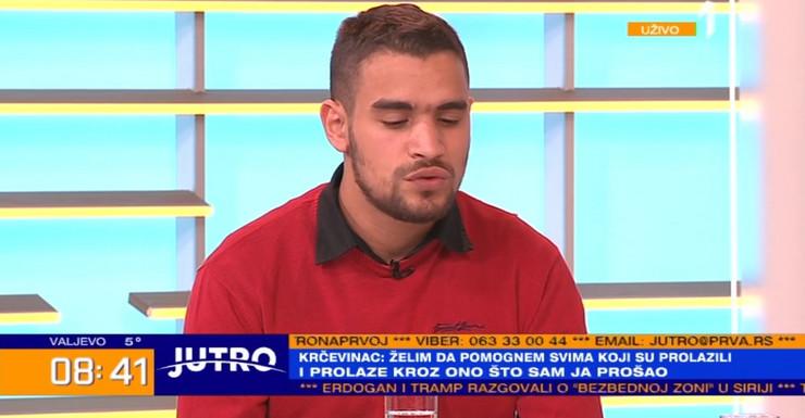 Luka Krčedinac 21, žrtva Gorana Jevtića