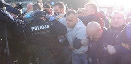 Strajk przedsiębiorców w Warszawie. Doszło do przepychanek z policją